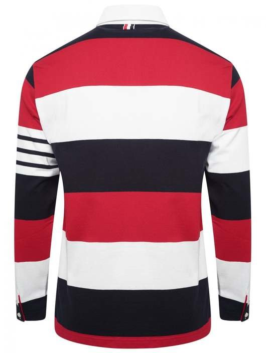 44d798cd3 Classic Striped Rugby Polo - Thom Browne