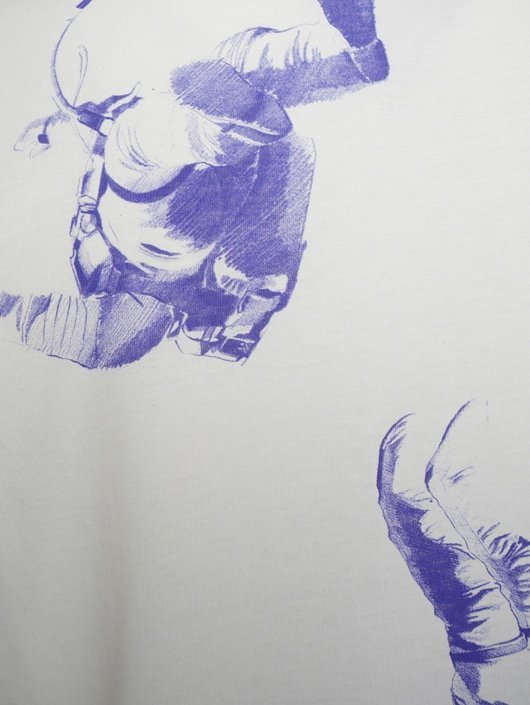 403f9462d Astronaut Graphic T-Shirt Off White - Raf Simons | Hervia