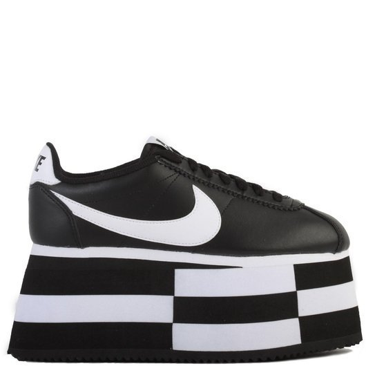 official photos cbe48 ae30d CDG x Nike Cortez Check Platform Sneakers