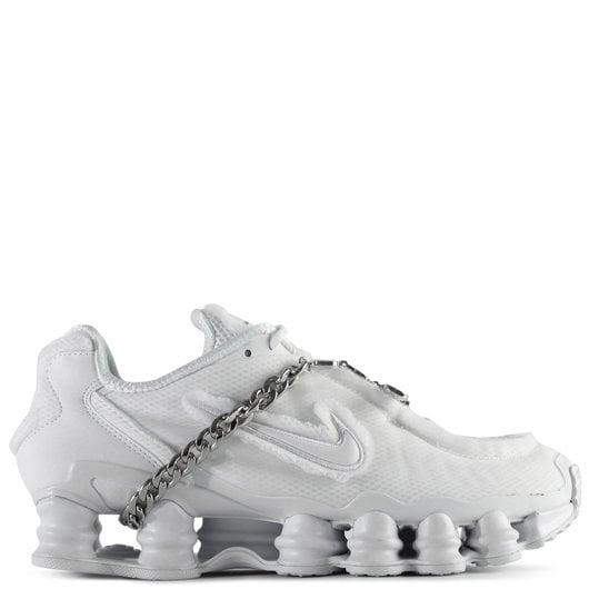 Comme des Garçons x Nike Shox TL Sneakers White