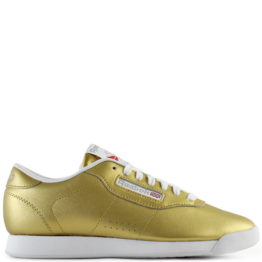 sports shoes 02c7d 674ff Reebok Classic Princess Low-Top Sneaker in Gold