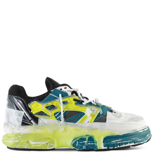 b5c697c8718 Deconstructed Fusion Low-Top Leather Sneakers Octane Mix