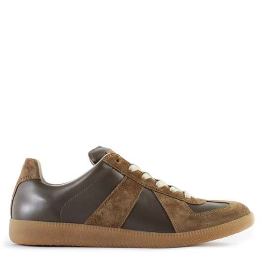 d74e5602b8e Replica Panelled Sneakers Truffle