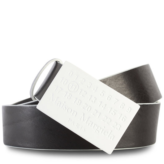 6a93314df89 Skater Leather Belt Black