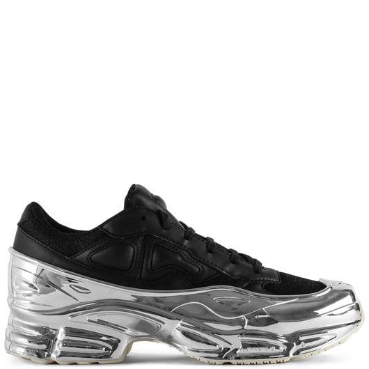 half off 03ed3 b5967 Adidas x Raf Simons Ozweego Black/Silver