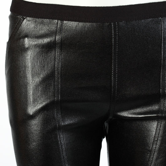 64152f74c37428 Easy Nagakin Leather Leggings - Rick Owens | Hervia