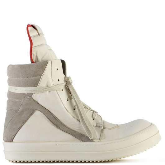 reputable site 8ba9a 1a0bf Geobasket High Top Sneakers Milk/Pearl