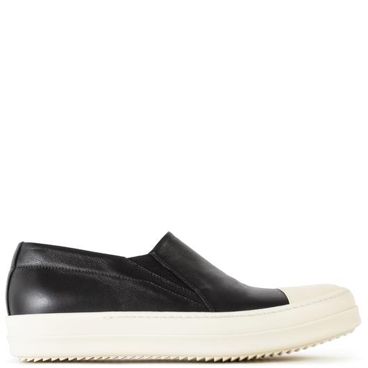 rick owens slip on sneakers