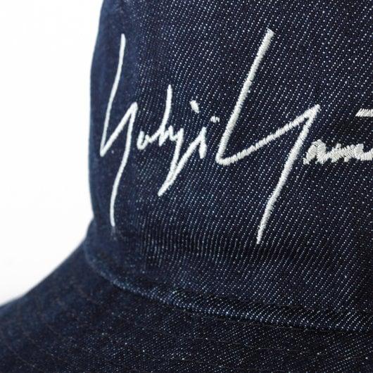 36c1e4bfe26f4 Embroidered Logo Denim Bucket Hat - Yohji Yamamoto