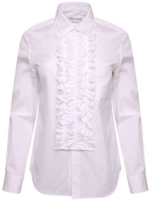 ddd3790c L/S Ruffle Placket Shirt - Comme des Garçons | Hervia