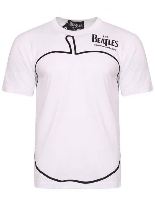 7e98c3ff0 The Beatles Apple Outline T-Shirt - CDG THE BEATLES | Hervia