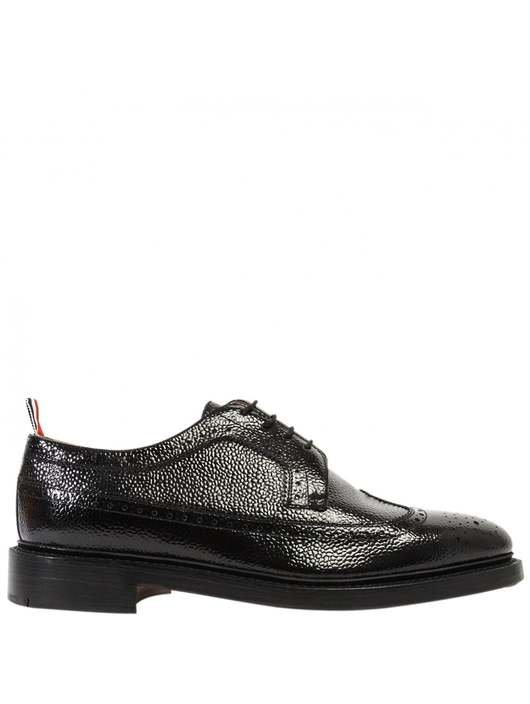 afb526d012 Classic Pebble Grain Leather Longwing Brogues - Thom Browne | Hervia