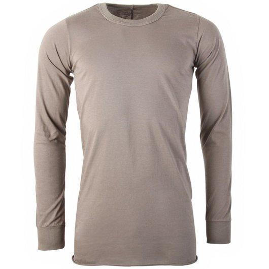 c76ab1236 Basic Long Sleeved T-Shirt Dust - Rick Owens | Hervia