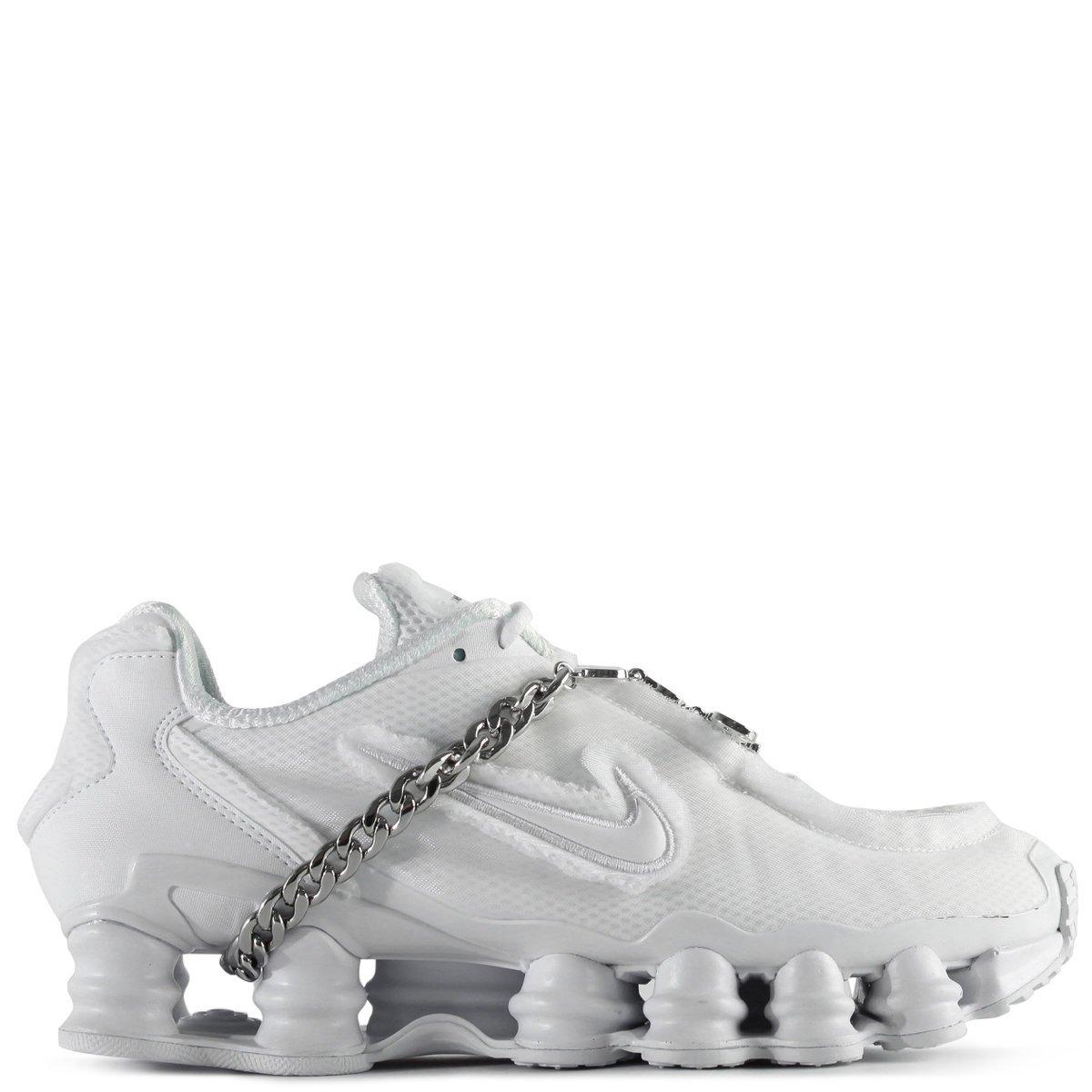 x Nike Shox TL Sneakers White