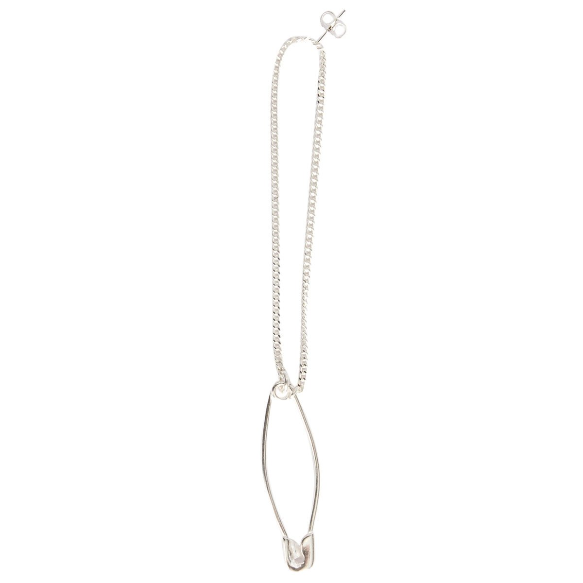 Safety Pin Chain Earring | Hervia