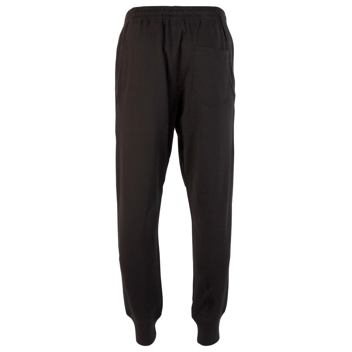 Mens Y-3 Classic Cuff Pants In Black