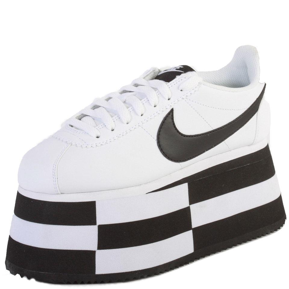 Desarmamiento Productivo Perceptivo  Comme des Garçons CDG x Nike Cortez Check Platform Sneakers   Hervia