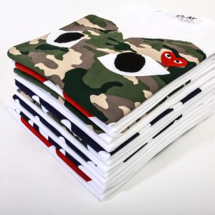Comme des Garcons Play: New Styles & Restock